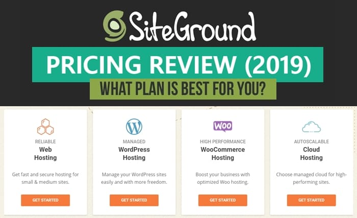 Cheap  Hosting Siteground Price Comparison